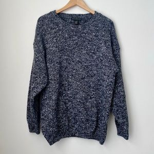 Vintage WindRiver Chunky Grey Knit Sweater